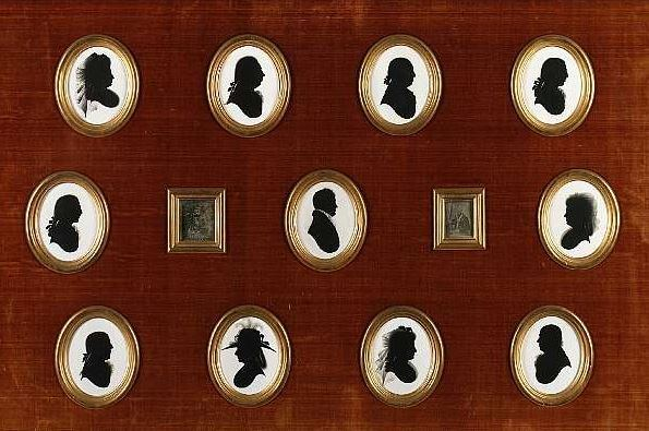 Silhouettes du XVII ème siècle
